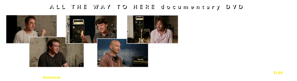 All The Way To Here DVD Documentary