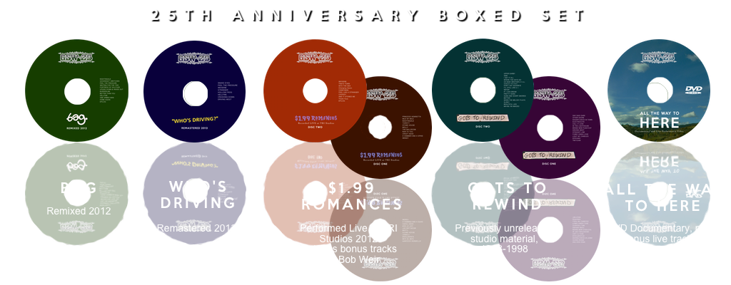 GSW 25th Anniversary Boxed Set